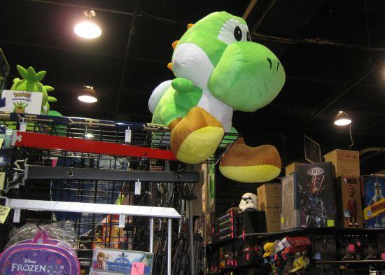 Stuffed Yoshi!