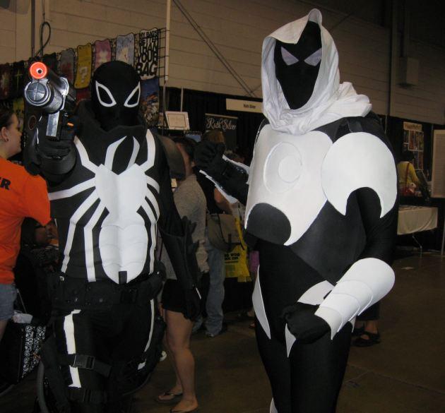 Venom and Moon Knight!