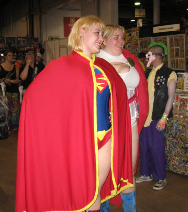 Supergirl and Power Girl!