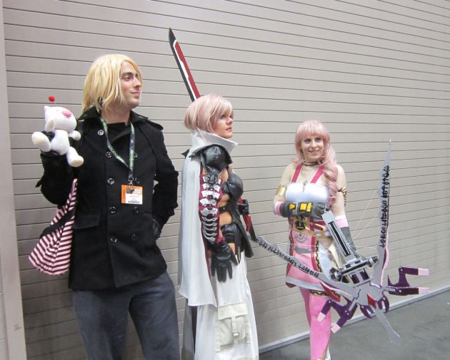 Lightning and Serah!