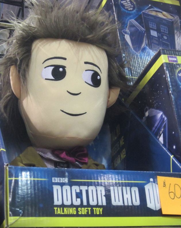 Plush Eleventh Doctor!