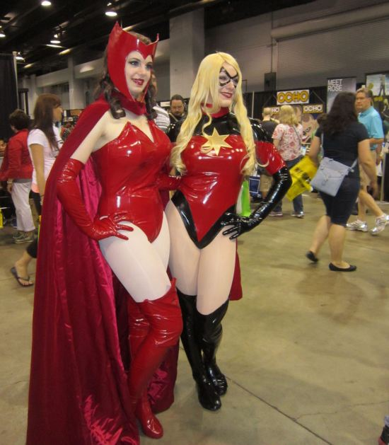 Scarlet Witch and Ms. Marvel!