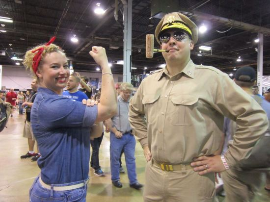 MacArthur and Riveter!