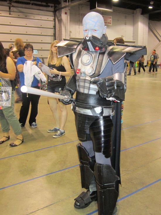Darth Vader unmasked!