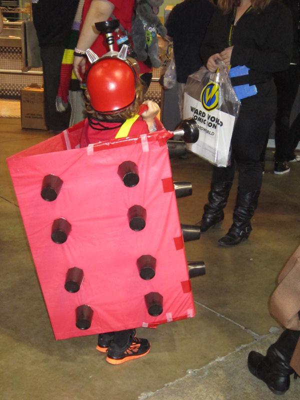 Tiny Red Dalek!