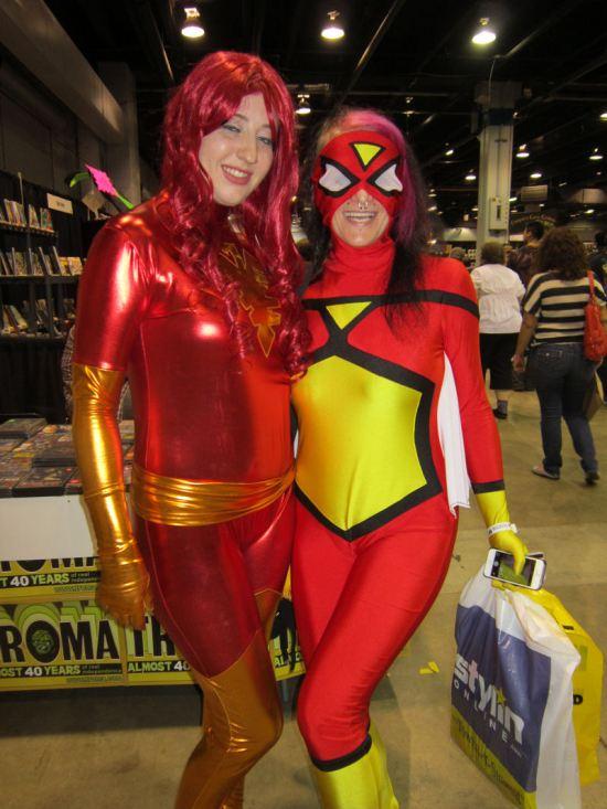 Dark Phoenix and Spider-Woman!