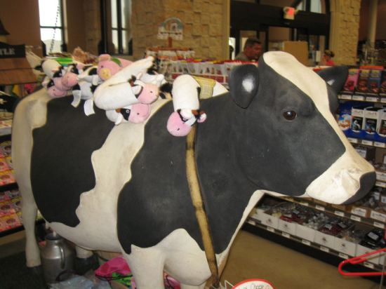 Cow with Puppets!