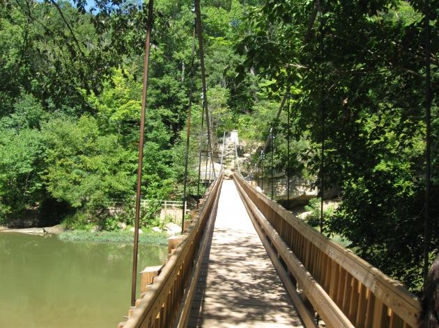 Turkey Run Sugar Creek bridge!