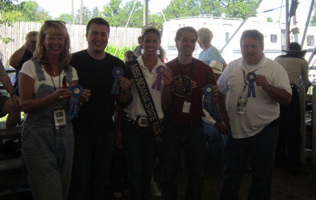 Celebrity Milking Contest!