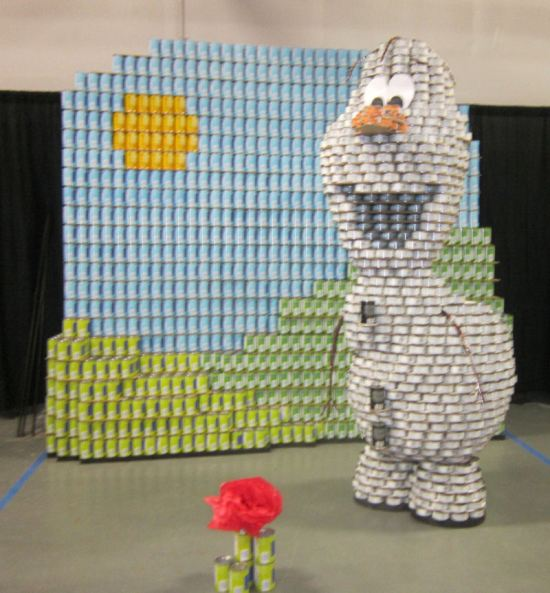 Canned Olaf!