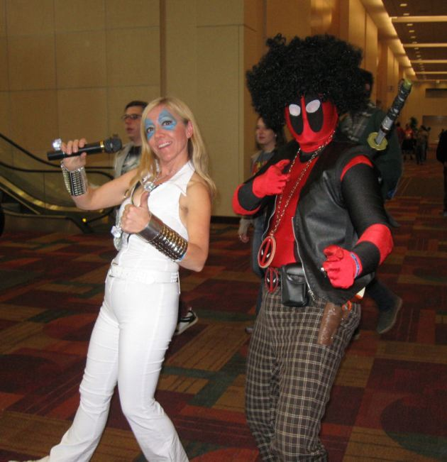 Dazzler and Disco Deadpool!