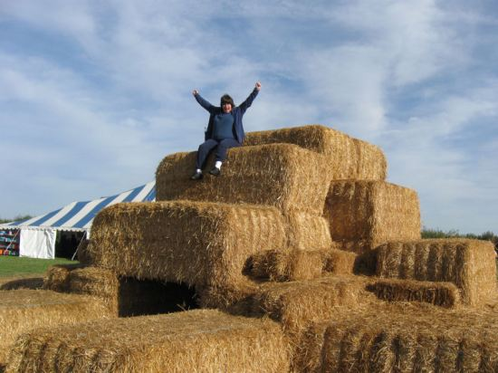 Queen of Hay Mountain!