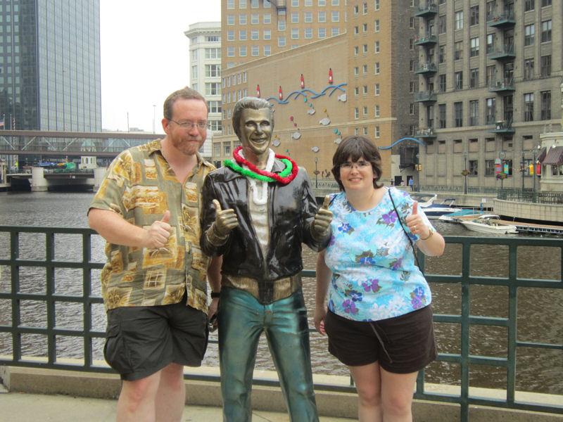 Non Monochromatic Milwaukee River Walk >> 2014 Road Trip Photos 2 Fonzie And The Ducks Midlife Crisis