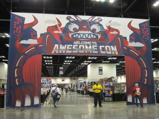 Awesome Con entrance!
