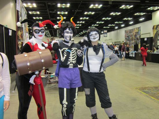 Harley Quinn and Homestuck!
