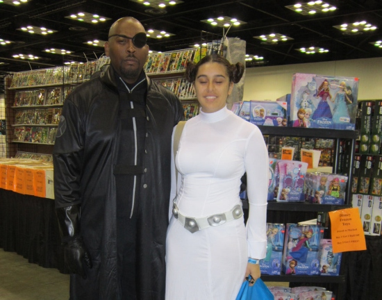 Leia and Fury!