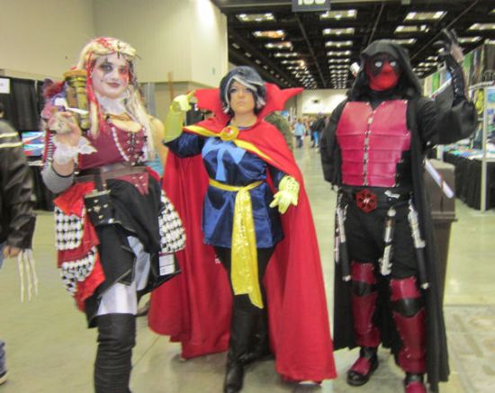 Sith Lord Deadpool and apprentices!