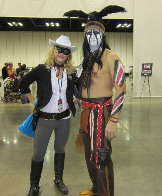 Lone Ranger and Tonto!