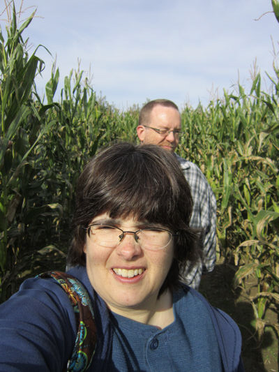 Corn Maze Selfie!