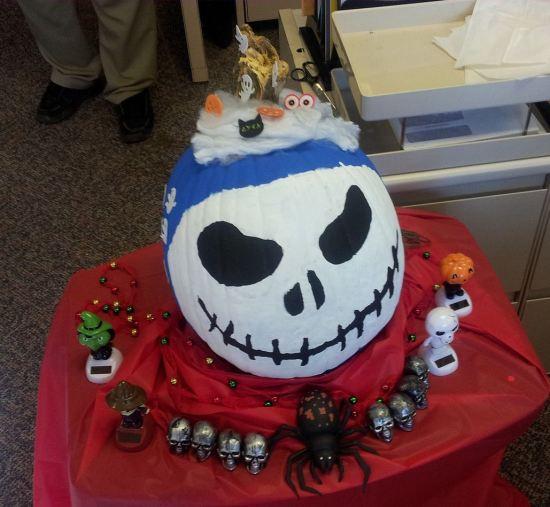 Pumpkin Skellington!