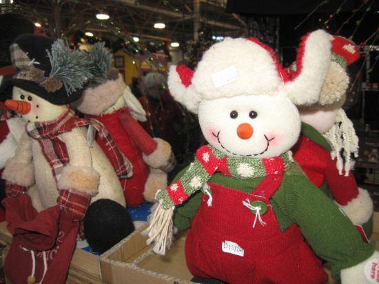 Happy Stuffed Snowman!