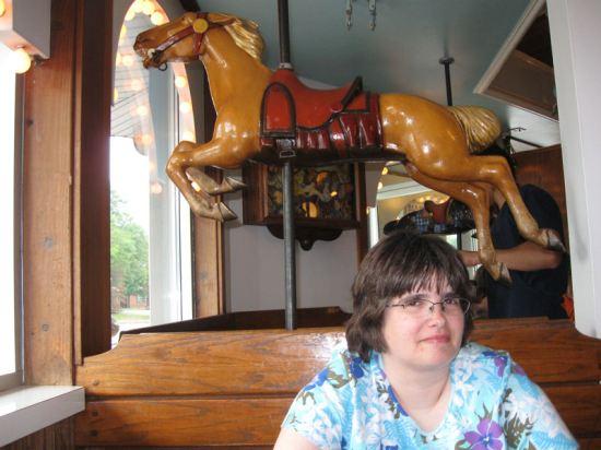 Carousel horsie!