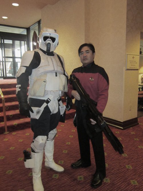 Star Trek/Star Wars!