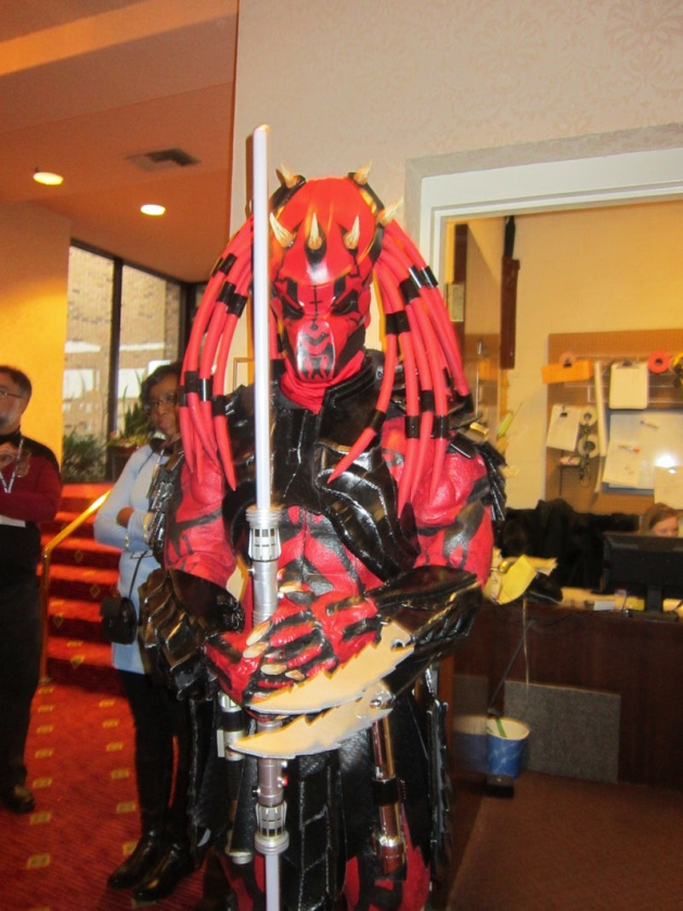 Darth Predator Maul!