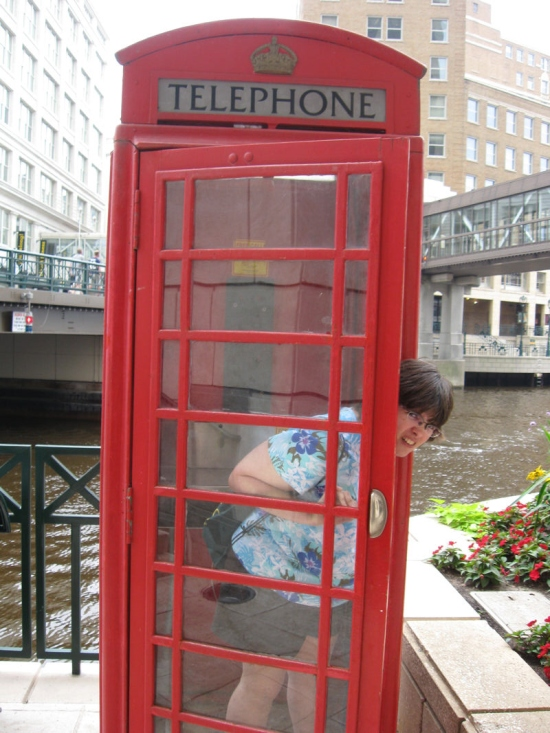 Phone Booth!