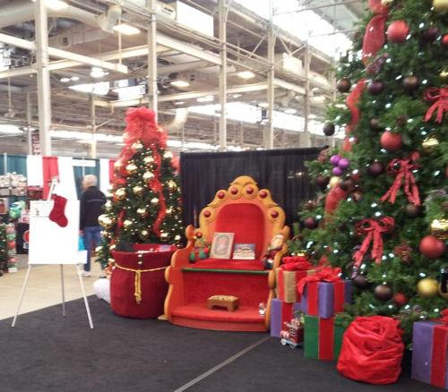 Santa's Throne!