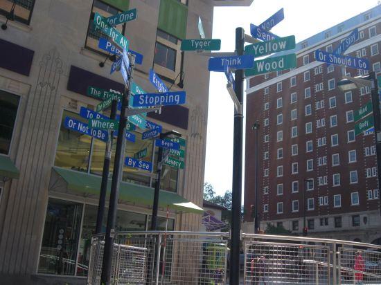 Street Signs!