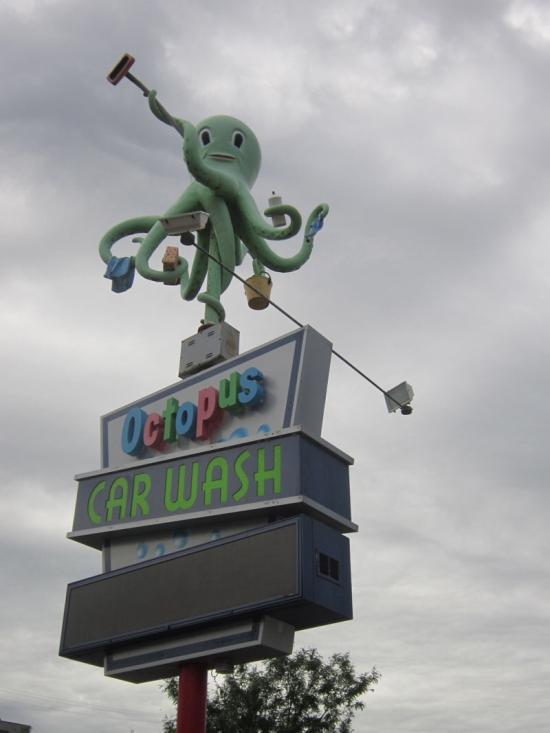Octopus Car Wash!