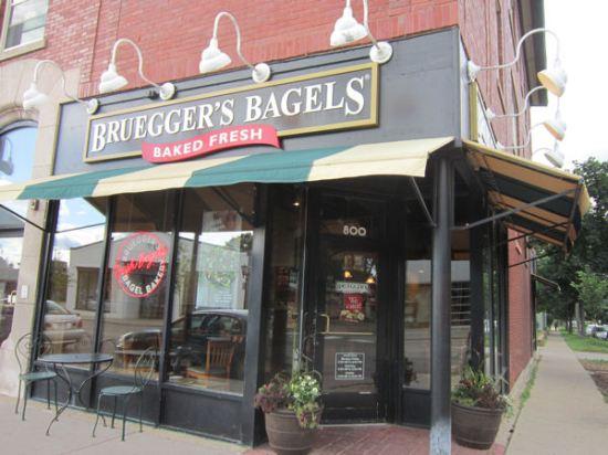 Bruegger's Bagels!