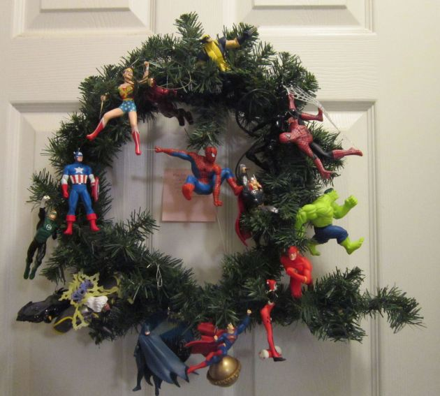 Marvel/DC Comics Wreath!
