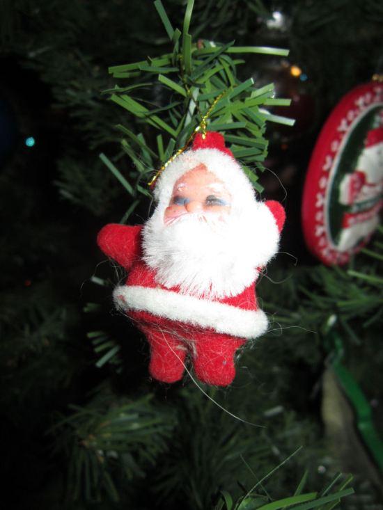 Plastic Santa!