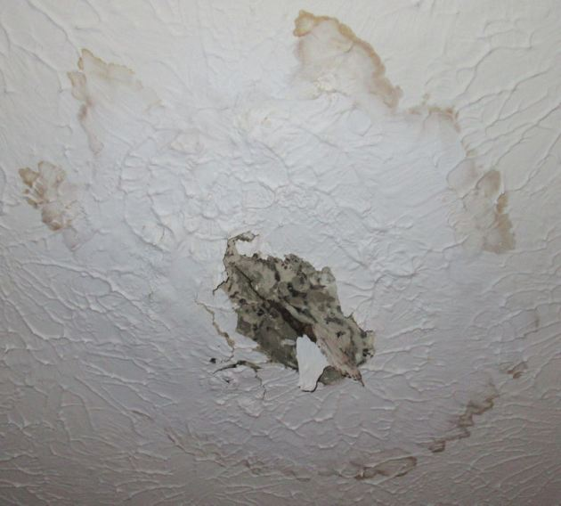 Ceiling Hole!
