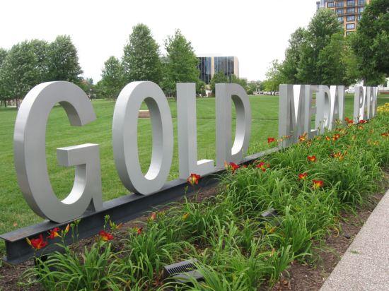 Gold Medal Park!