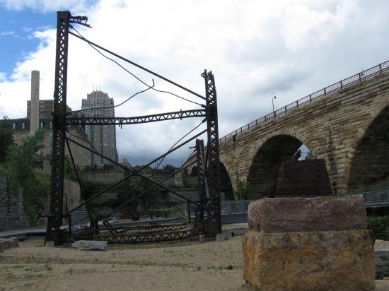 Mill Ruins Girders!
