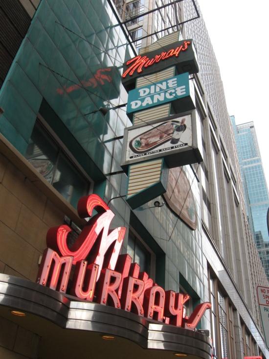 Murray's!