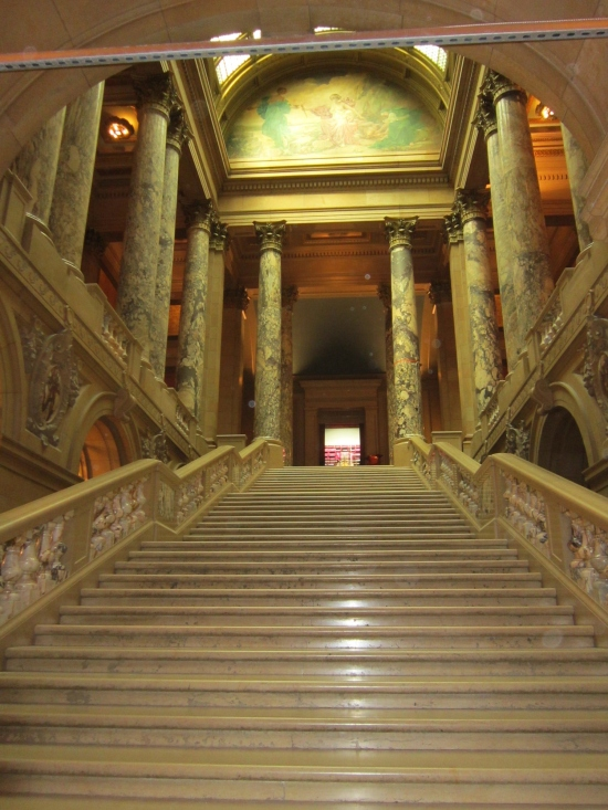 Capitol Stairs!