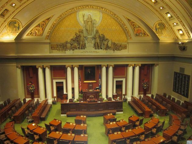 Minnesota House chambers!
