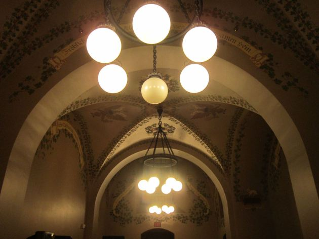 Capitol Ceiling Lights!
