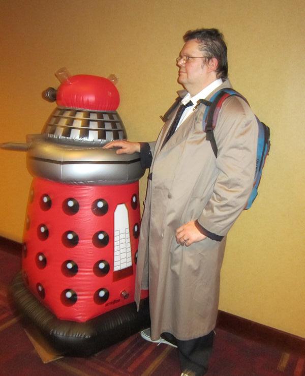 Red Dalek!