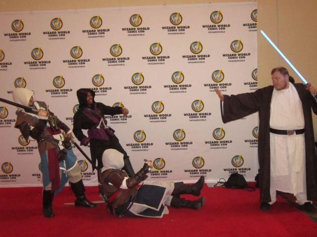 Jedi v. Assassins!