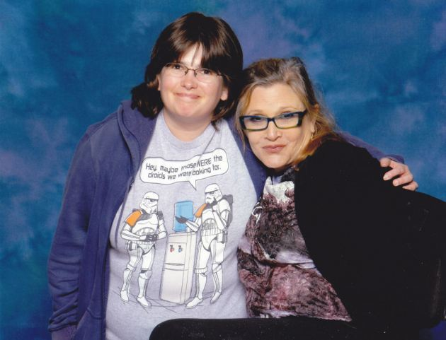 Carrie Fisher!