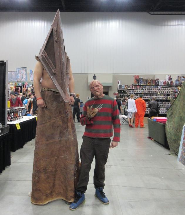 Pyramid + Freddy!