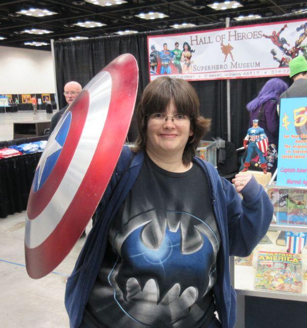 Cap's Shield!
