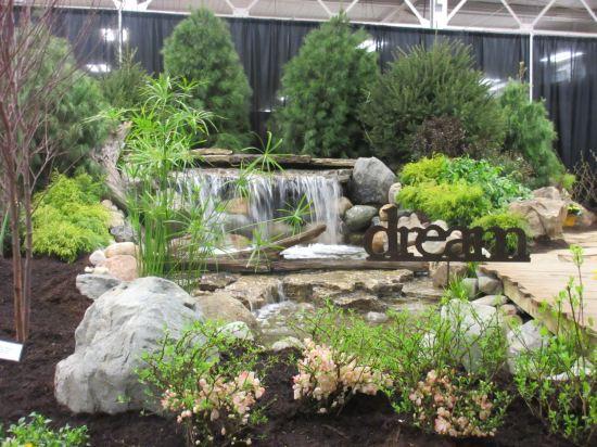 Indoor dream waterfall!