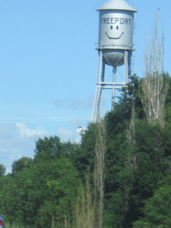 Freeport Water Tower!