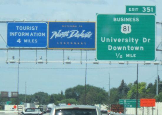 Welcome to North Dakota!